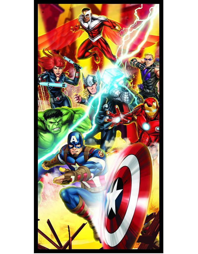Strandlaken Avengers Shield