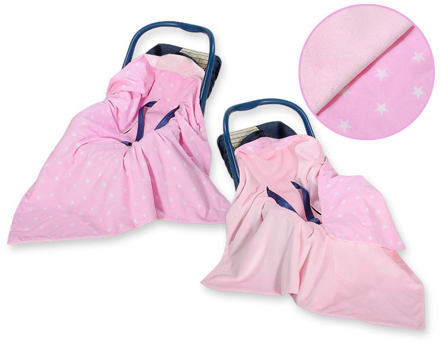 Omslagdoek-Maxi Cosi Stars Pink