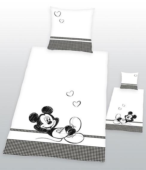 Dekbedovertrek Mickey Mouse Chill 135x200cm