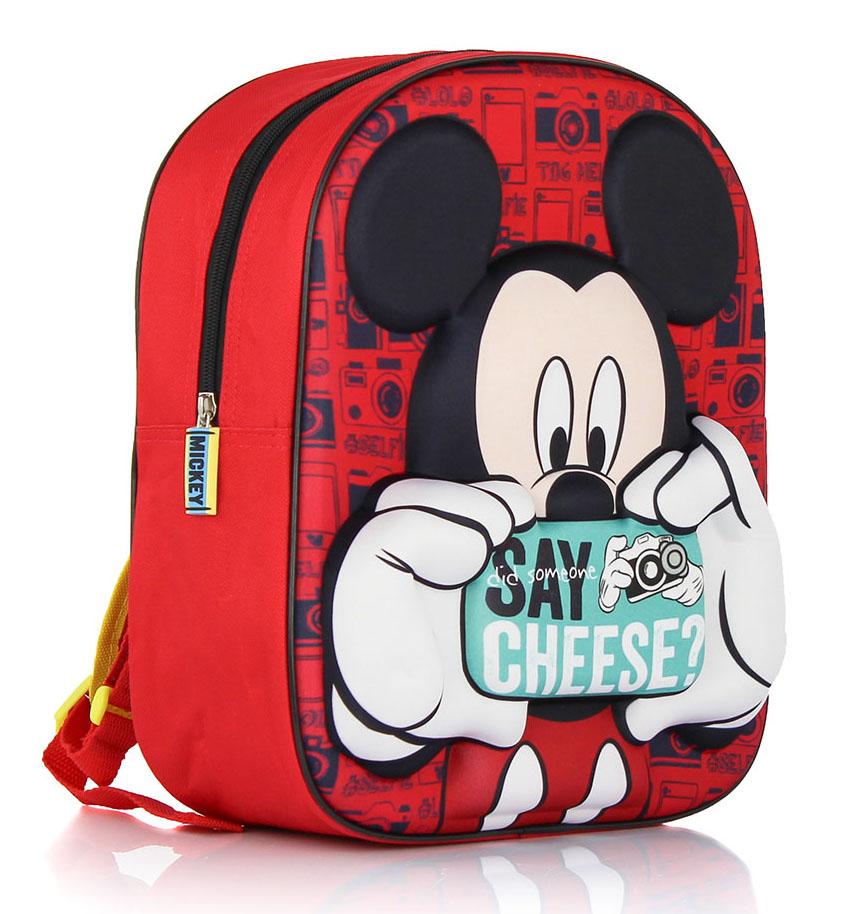 Mickey Mouse Rugzak 3D 31x27x10cm