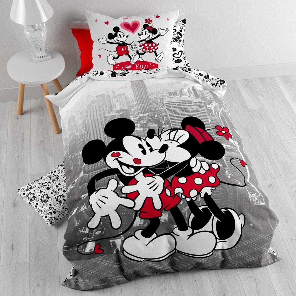 Mickey and Minnie Dekbedovertrek NYC