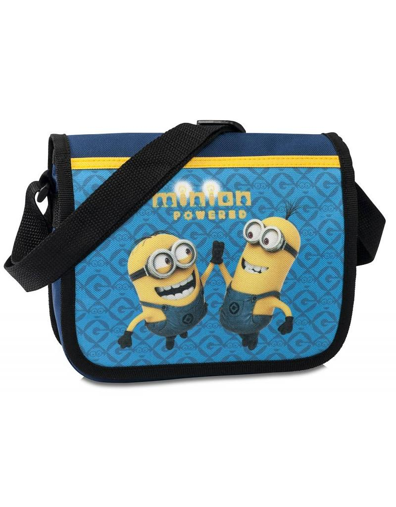 Minions Schoudertas Powered 23x21x7cm