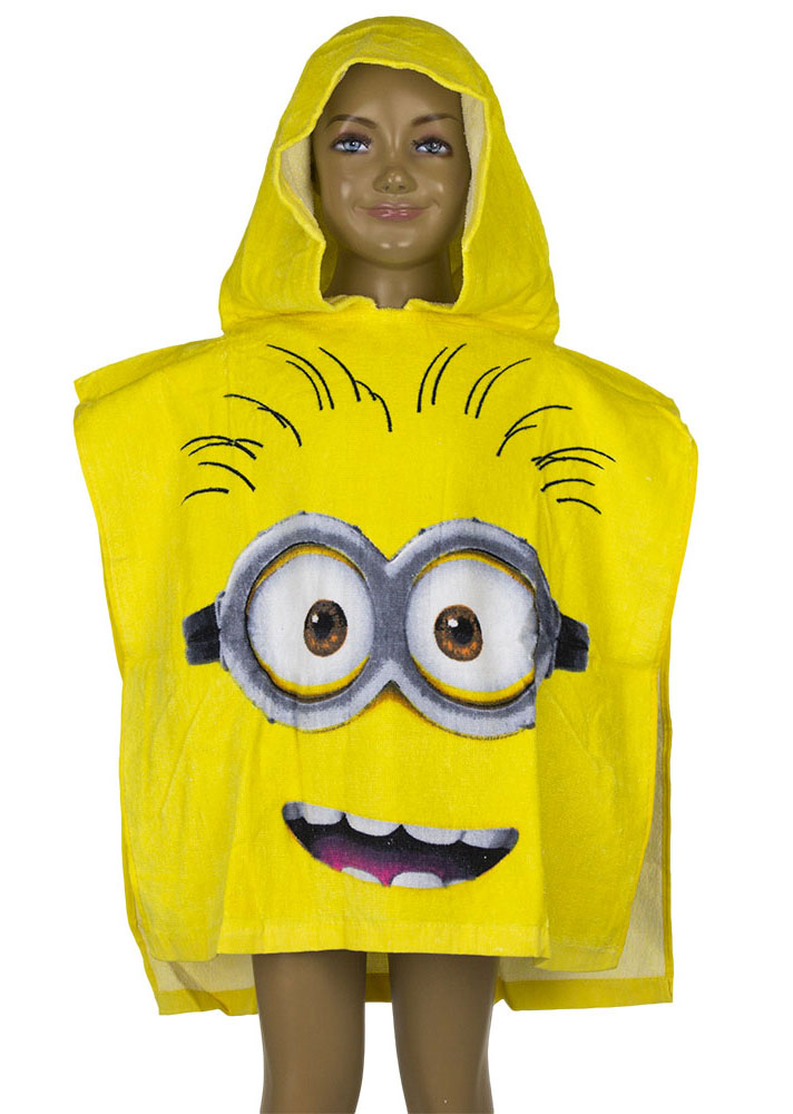 Minions Poncho Faces