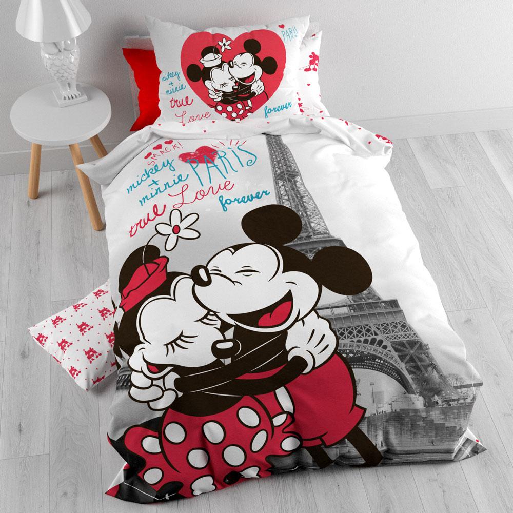Mickey and Minnie Dekbedovertrek in Paris