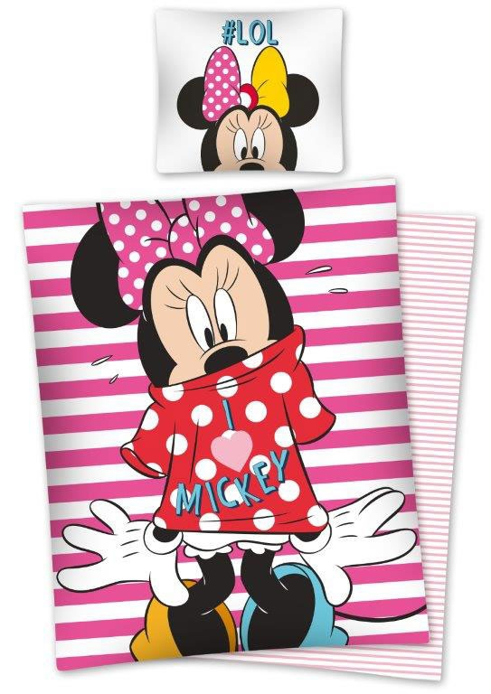 Kinderdekbedovertrek Minnie Mouse # LOL