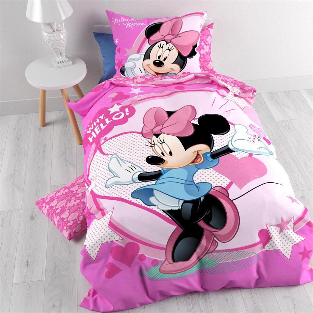Minnie Mouse Dekbedovertrek Hello!