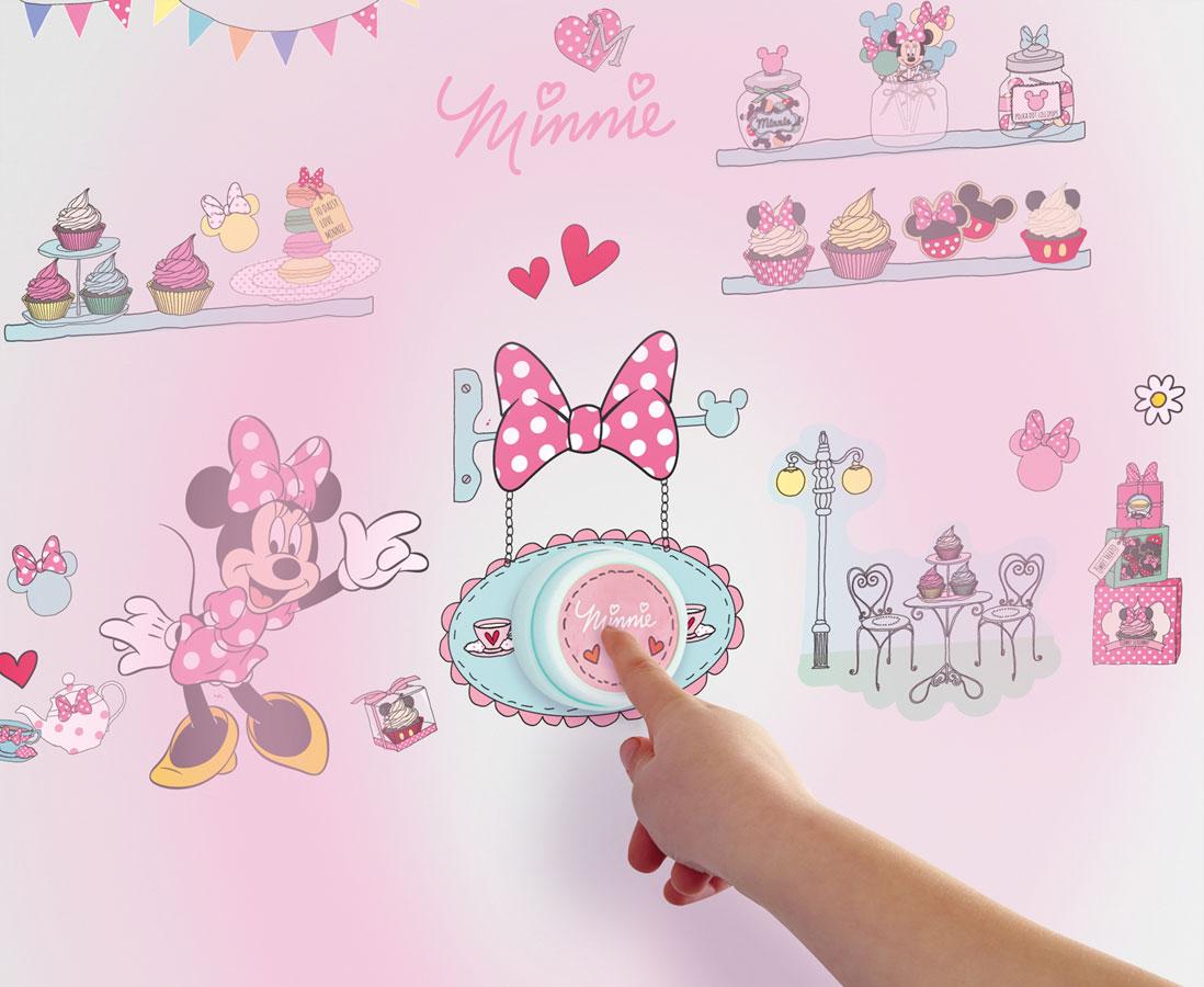 Minnie Mouse Deurbel met Stickers