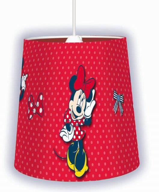 Hanglamp Minnie Mouse Shopping Rood