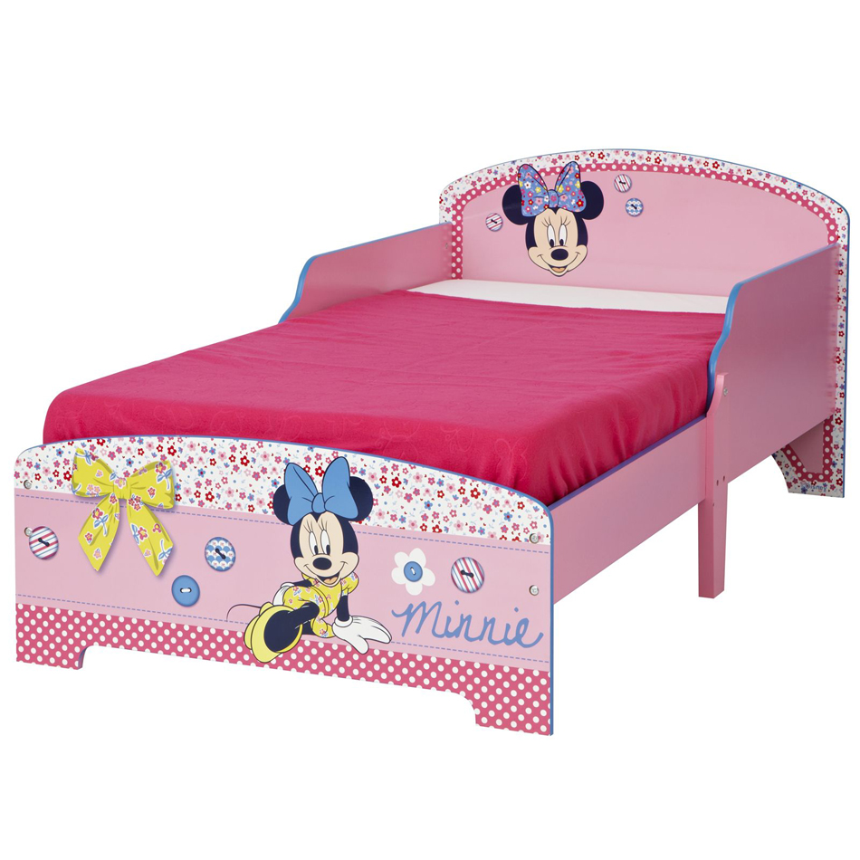 Minnie Mouse Junior Bed Roze
