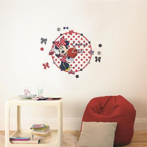 Minnie Mouse Muursticker Clock