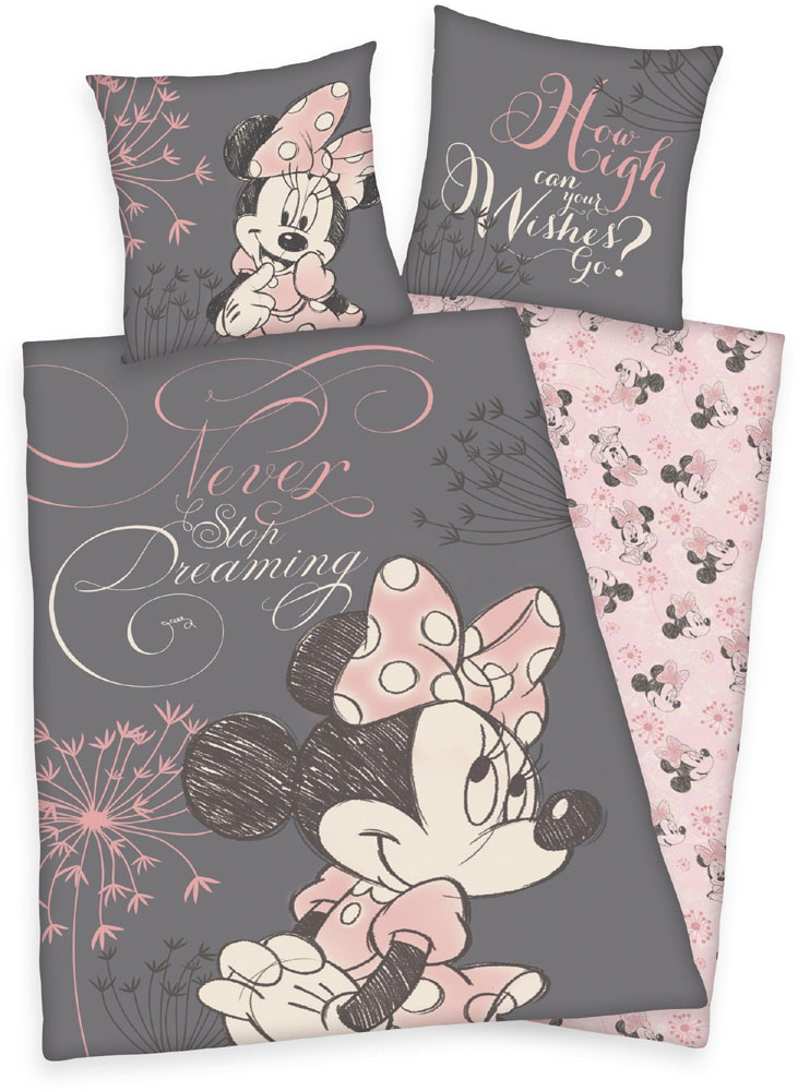 Minnie Mouse Never Stop Dreaming Dekbed