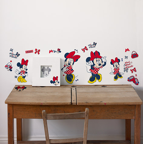 Minnie Mouse Stickers Shopping (52 stuks )
