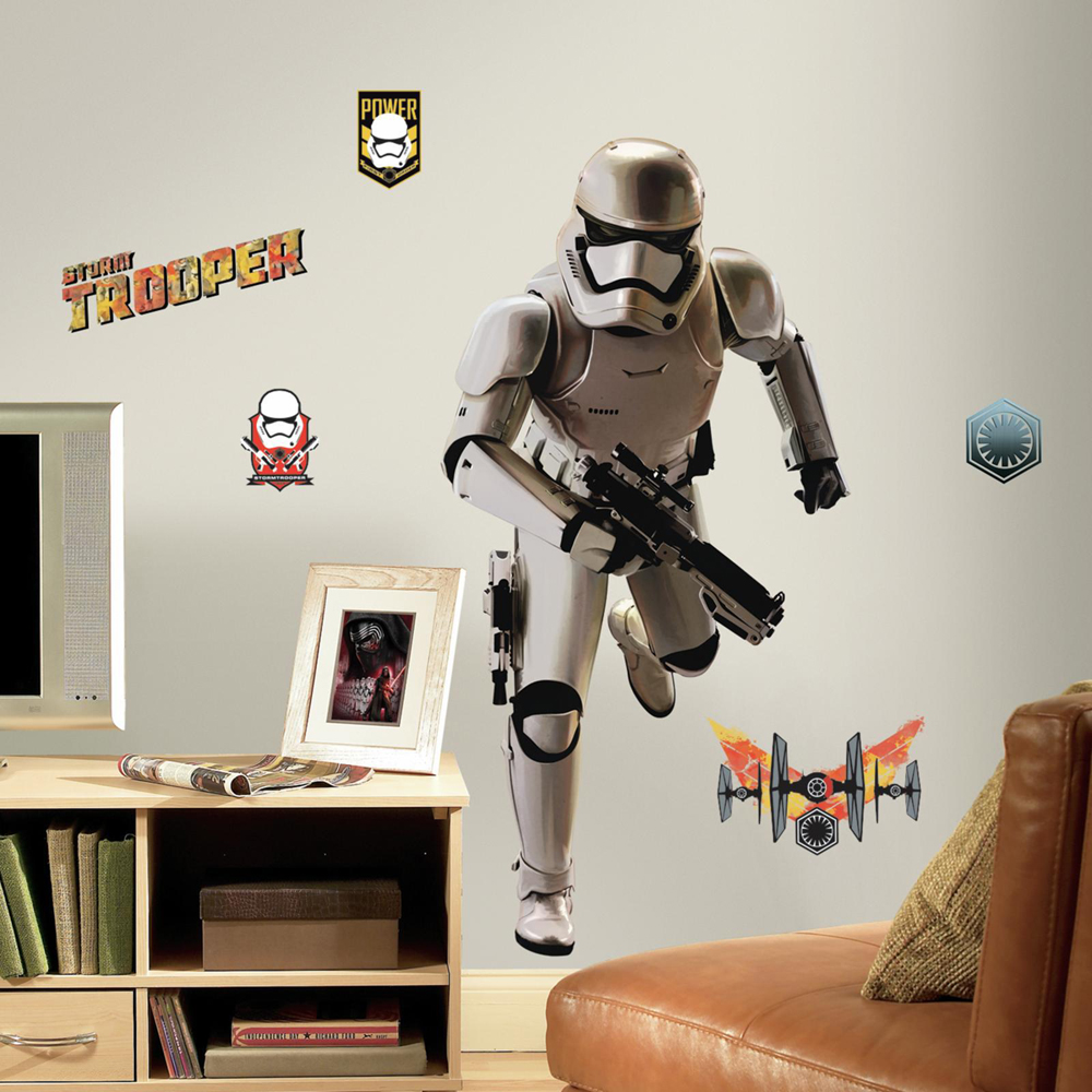 Star Wars Muursticker Storm Trooper (RoomMates)