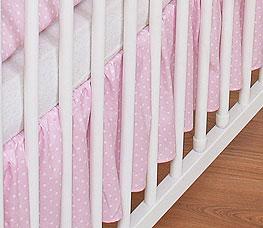 My Sweet Baby Bedrok Dots/Roze 60x120cm