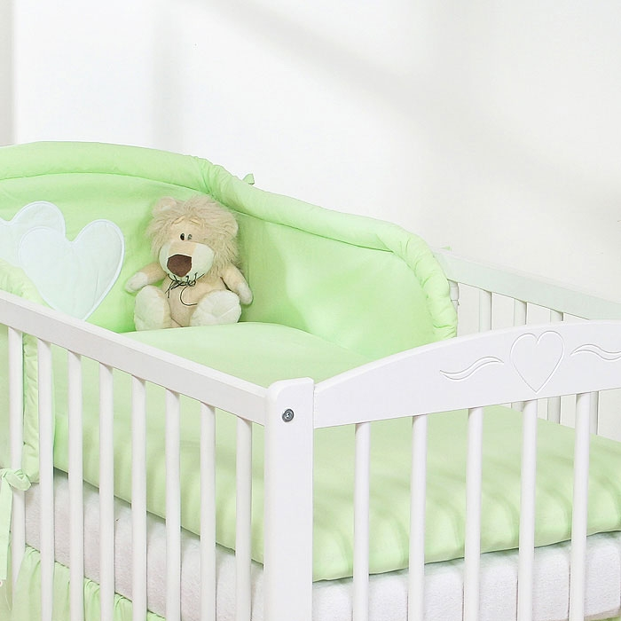My Sweet Baby Dekbedovertrek Uni Groen