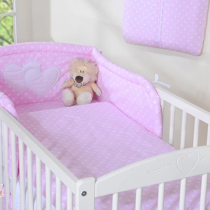 My Sweet Baby Dekbedovertrek Stip Roze