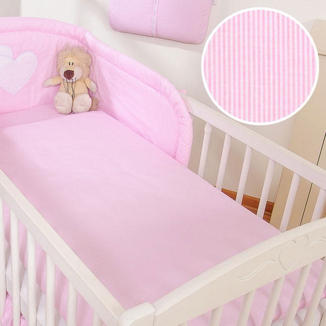 My Sweet Baby Dekbedovertrek Stripes/Roze