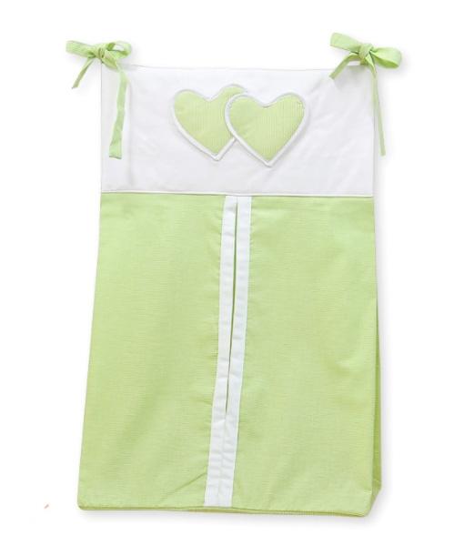 My Sweet Baby Luierzak Two Hearts Groen