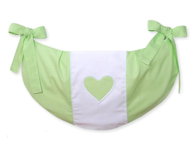 My Sweet Baby Speelgoedzak Two Hearts Groen