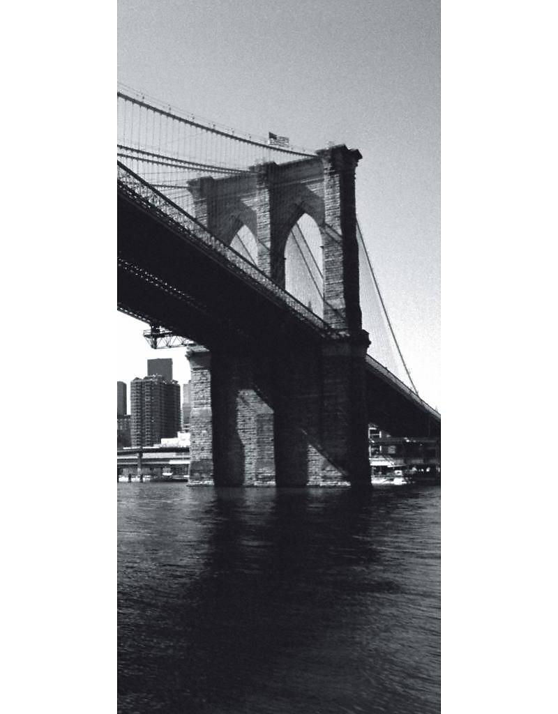 Deurposter New York Brooklyn Bridge
