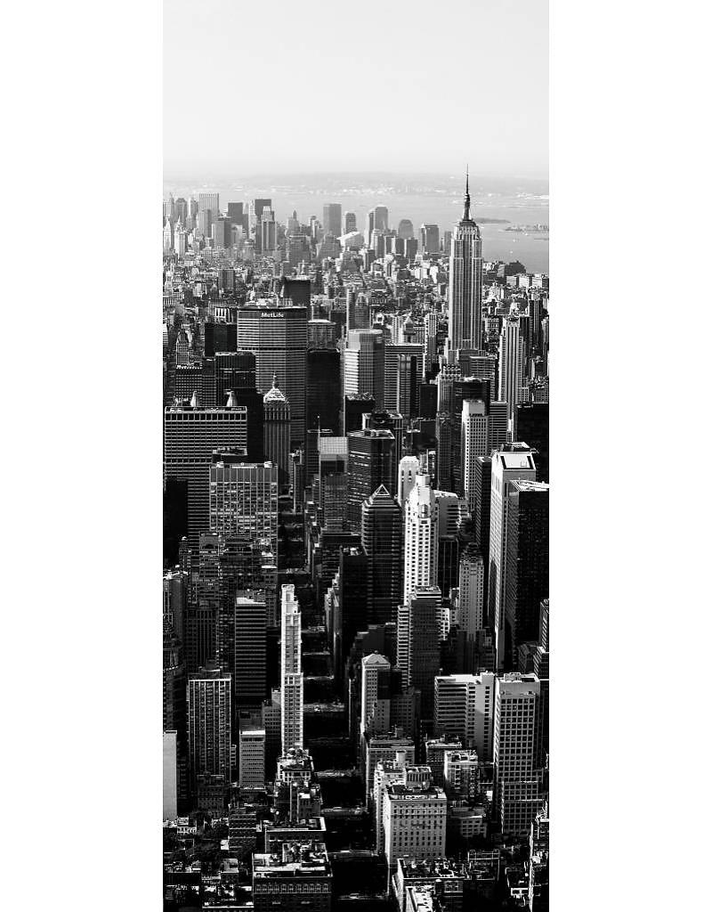 Deurposter New York Skyline