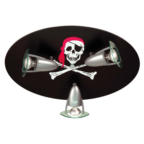 Kinderlamp Plafondspot Doodshoofd