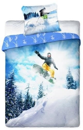 Dekbedovertrek Snowboard