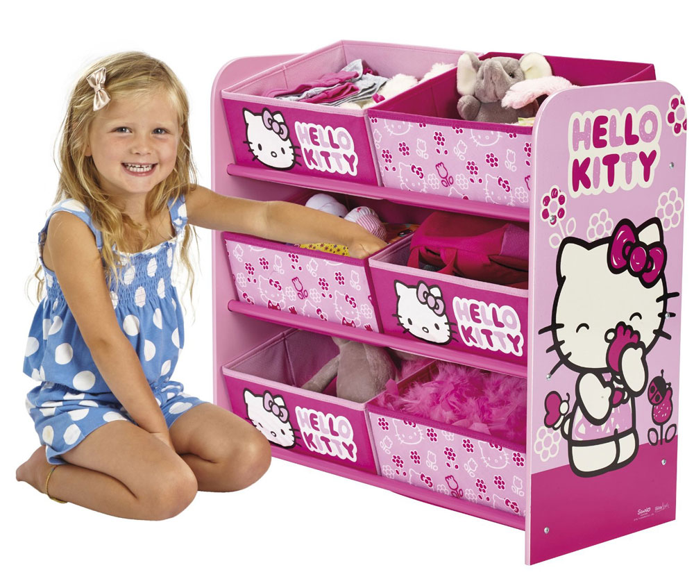Opbergrek Hello Kitty Flower
