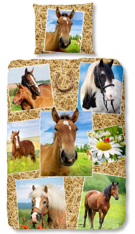 Good Morning Dekbedovertrek Horses
