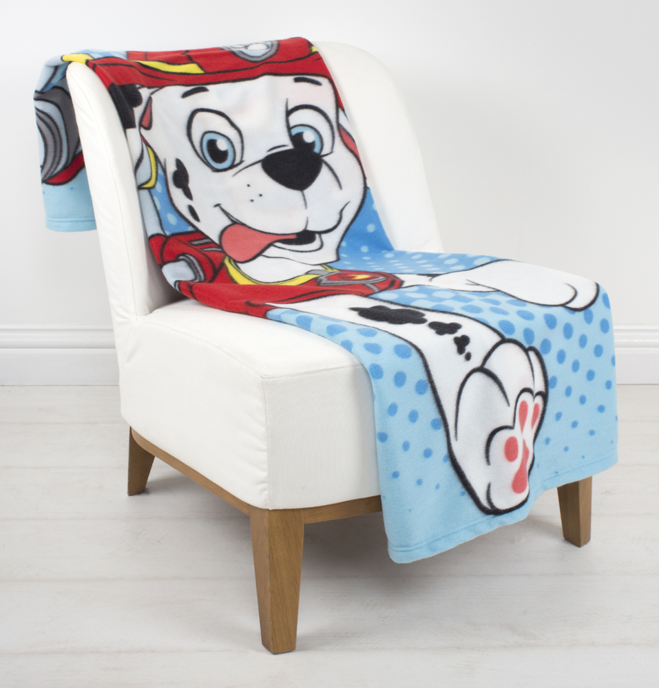 Paw Patrol Marshall Fleece Plaid Multi