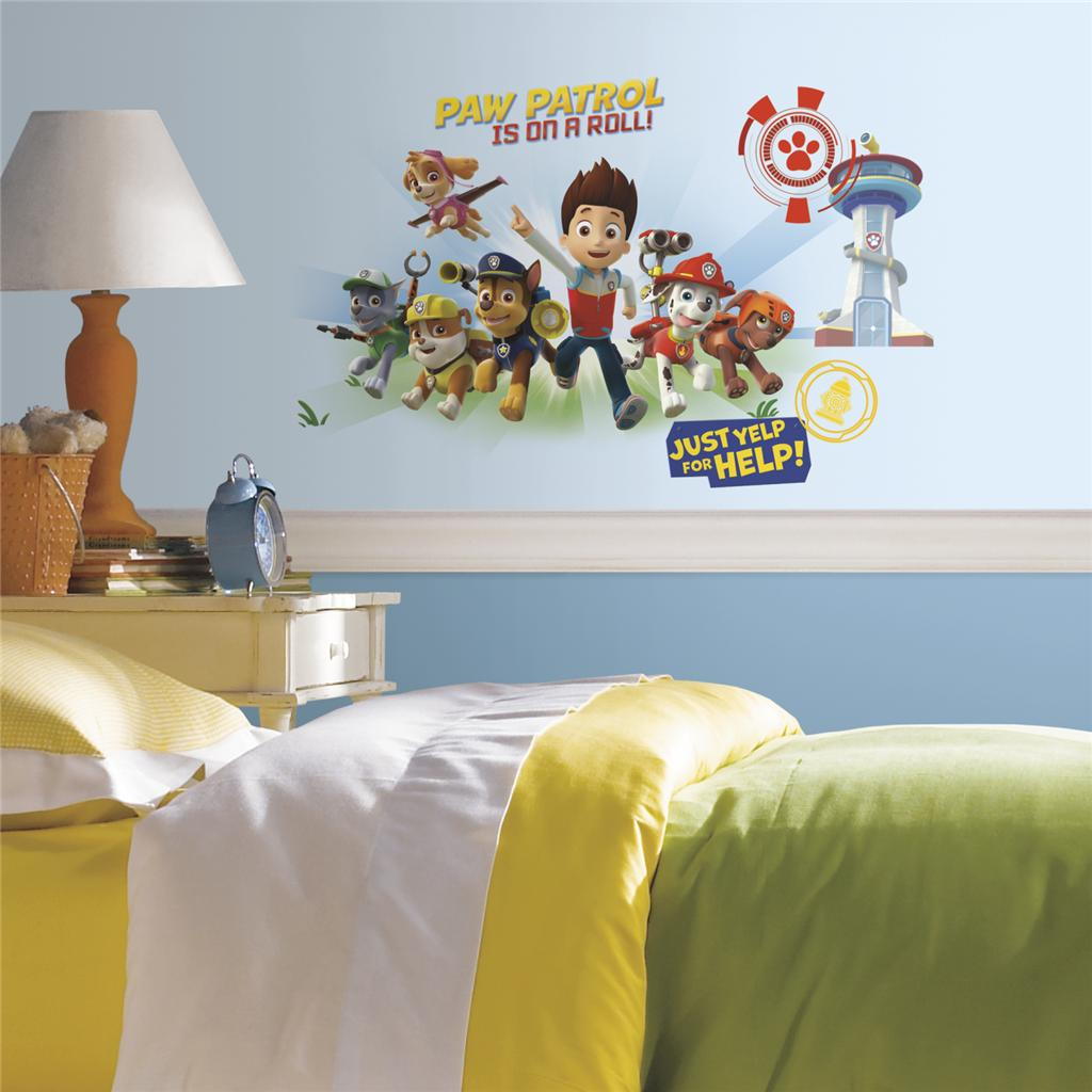 Paw Patrol Action Muurstickers (RoomMates)