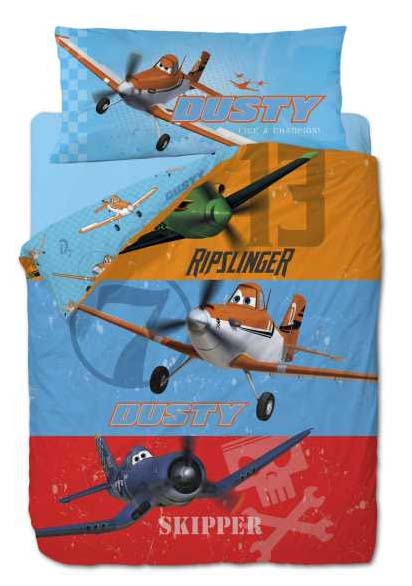 Planes Dusty Dekbedovertrek Skipper