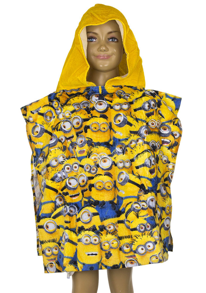 Minions Poncho All Together