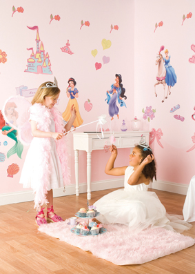 Princess Sticker Room make over kit
