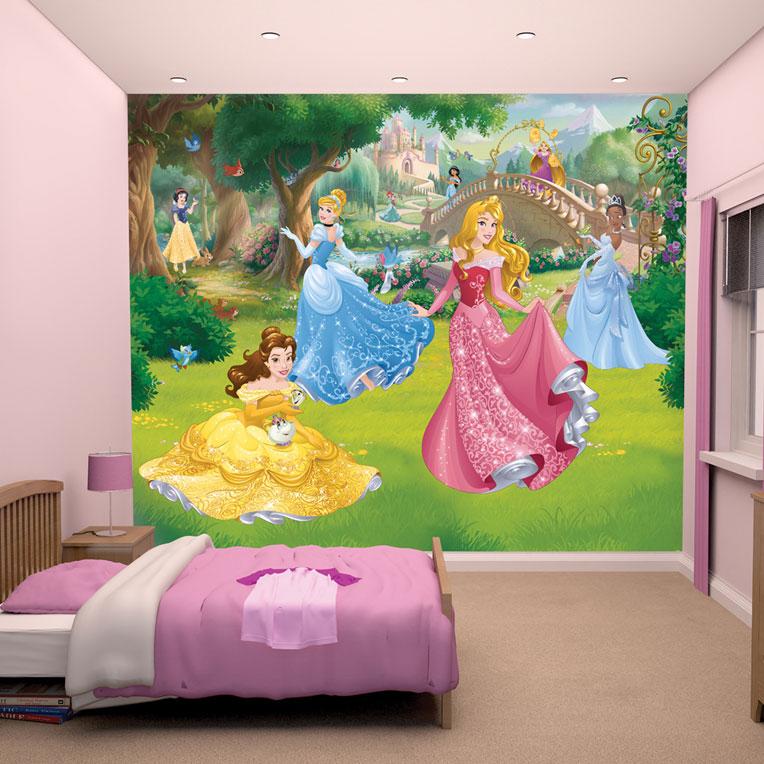 Prinsessen Sprookje Fotobehang (Walltastic)