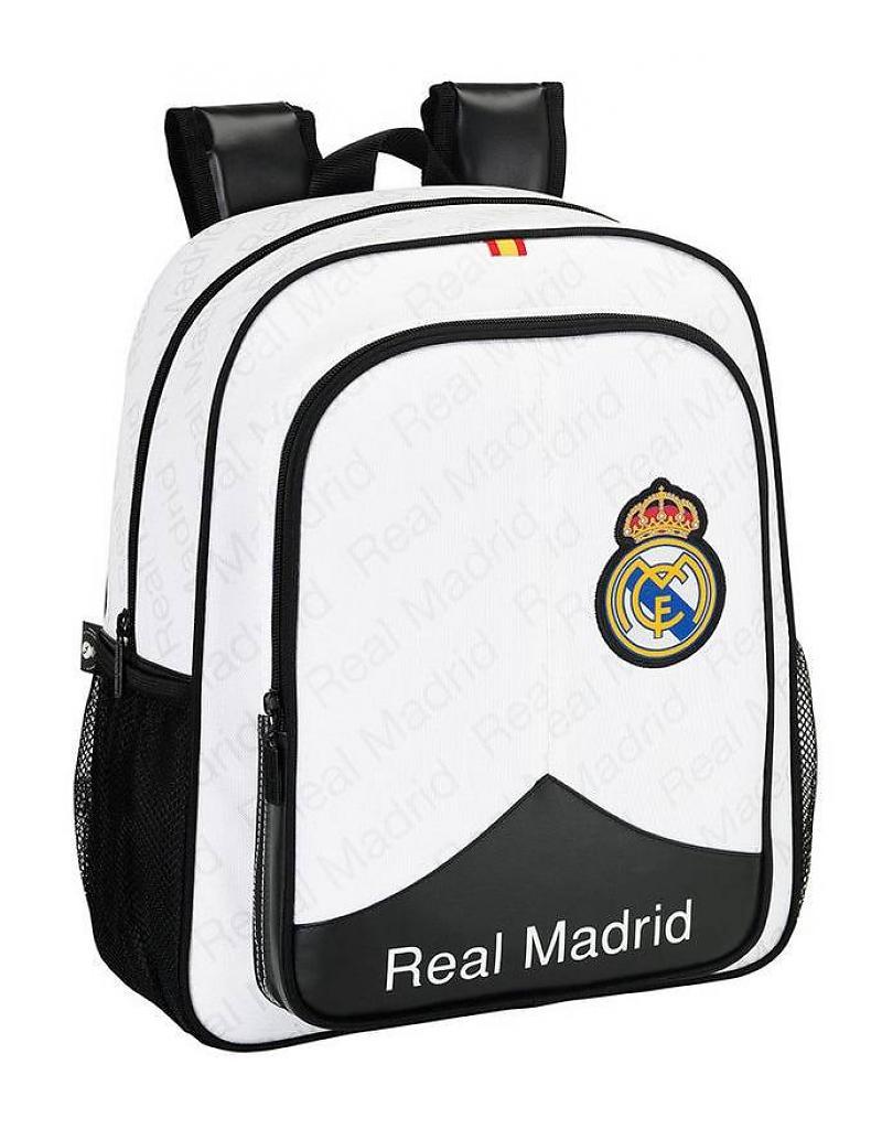 Rugzak Real Madrid 38cm Zwart/Wit