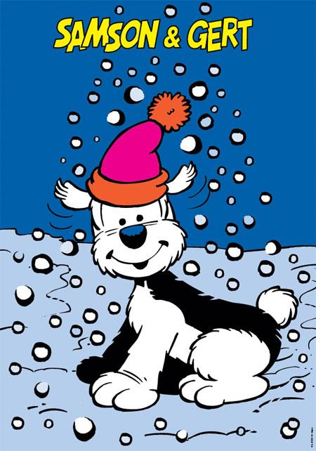 Dekbedovertrek Samson Let it Snow