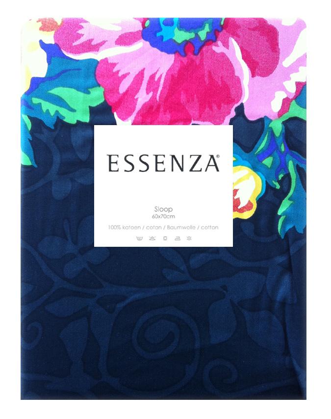 Essenza Kussensloop Satin Brasil Zwart (1 stuk)