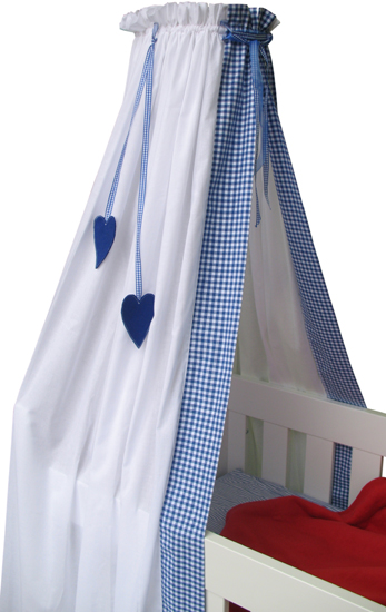 Coming Kids Sluier Mixed Heart Blauw