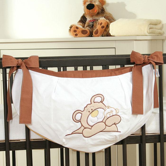 My Sweet Baby Speelgoedzak Teddybeer Bruin