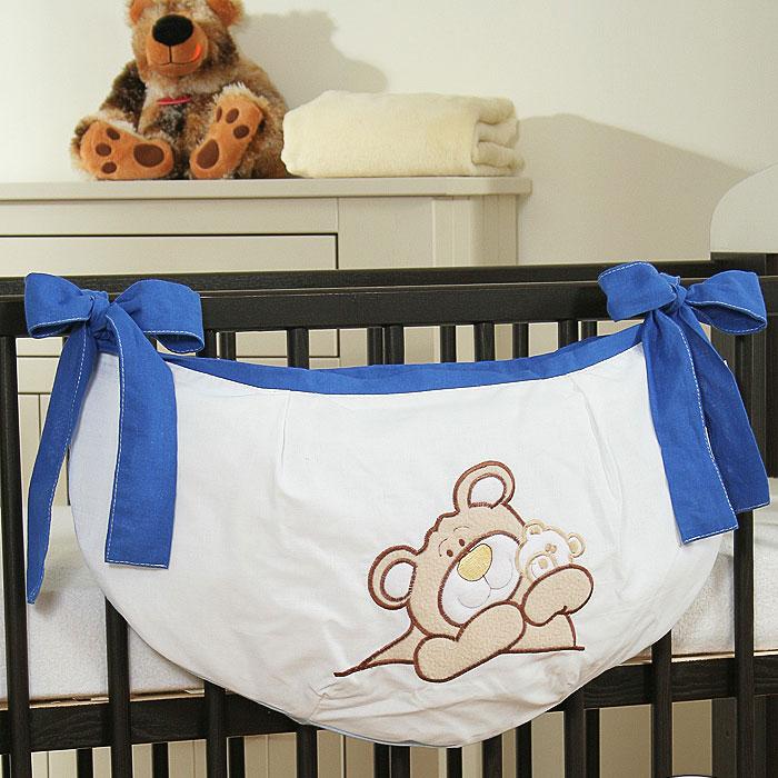 My Sweet Baby Speelgoedzak Teddybeer Blauw