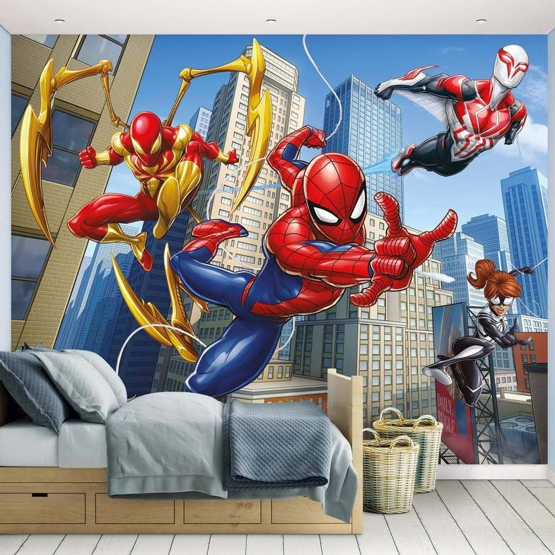 Spiderman Fotobehang (Walltastic)