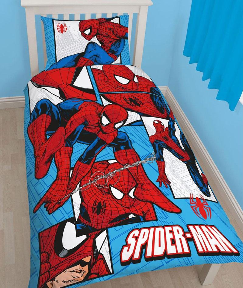 Spiderman Triangle Beddengoed
