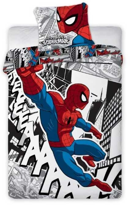 Spiderman Dekbedovertrek Cartoon