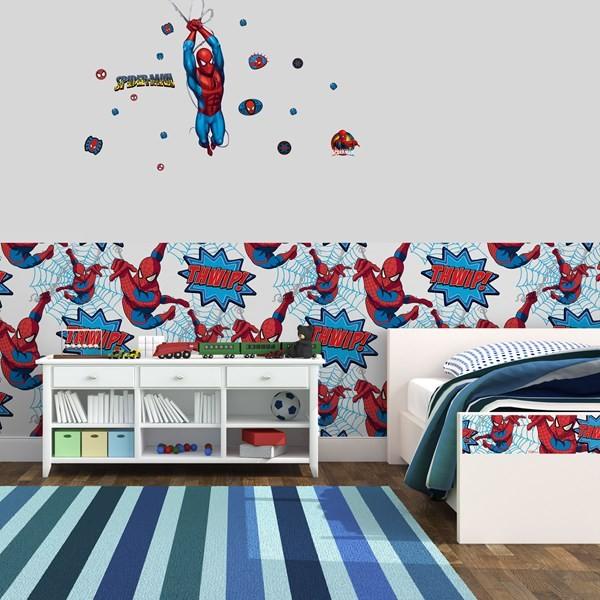 Spiderman Muurstickers Marvel