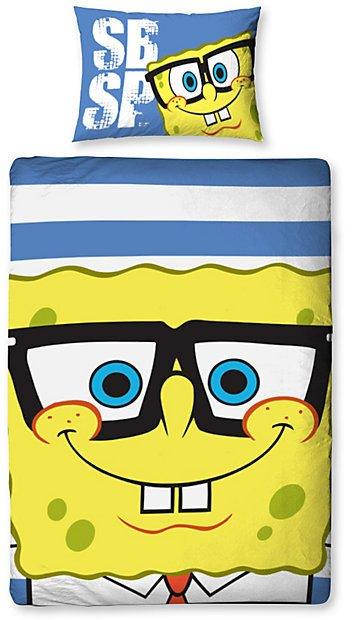 Dekbedovertrek Spongebob Face