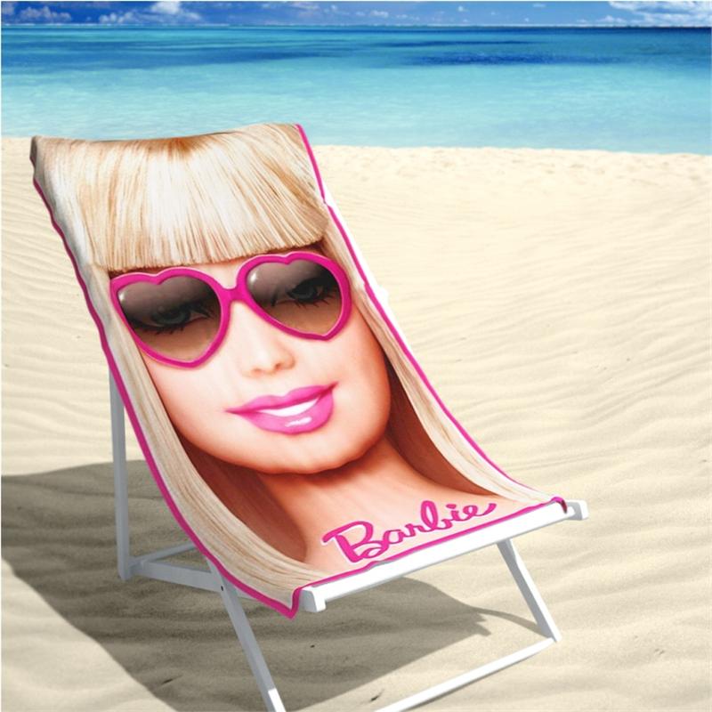 Badlaken Barbie 70x140cm