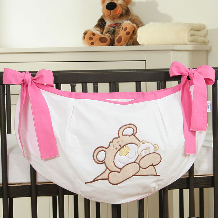 My Sweet Baby Speelgoedzak Teddybeer Roze
