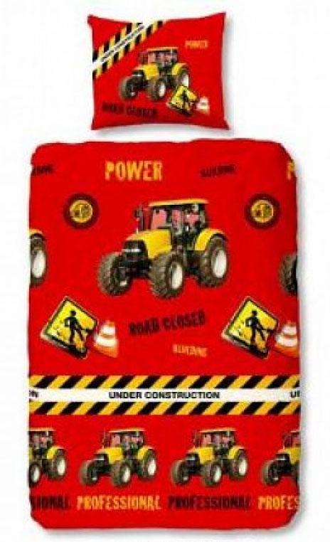 Jongens Dekbed Tractor All Over