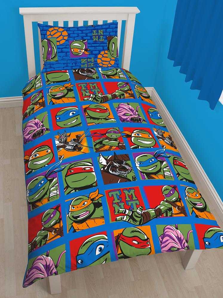 Teenage Turtles Ninjas Team Dekbedovertrek